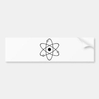 原子の記号 バンパーステッカー