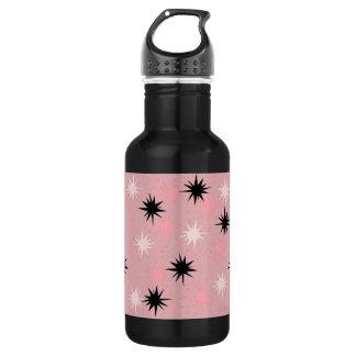 原子ピンクのスターバストの水差し ウォーターボトル