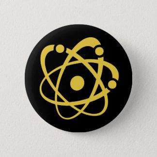 原子仕事の虫 5.7CM 丸型バッジ