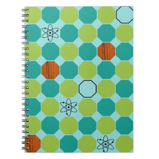原子八角形のノート ノートブック
