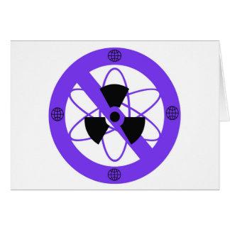 """""""原子力へのいいえ"""" * カード"""