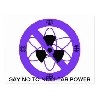 """""""原子力へのいいえ"""" * ポストカード"""