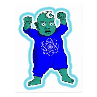 原子力時代の子供 ポストカード