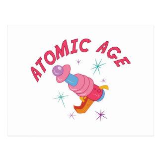 原子力時代 ポストカード