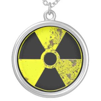 原子力 シルバープレートネックレス