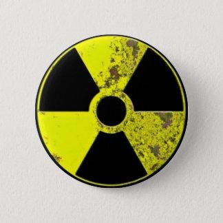 原子力 5.7CM 丸型バッジ