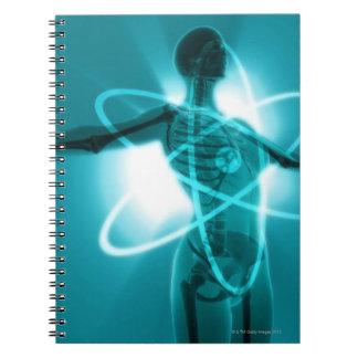 原子女性 ノートブック