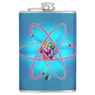 原子宝石のスキットル フラスク