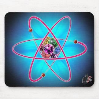 原子宝石のマウスパッド マウスパッド