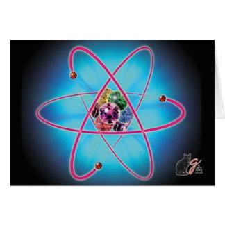 原子宝石 グリーティングカード