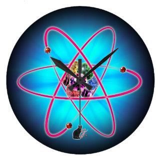 原子宝石 壁時計