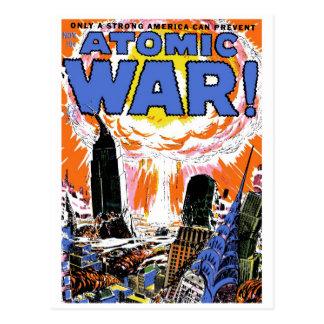 原子戦争! #1郵便はがき ポストカード