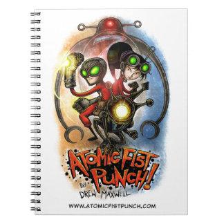 原子握りこぶしの穿孔器のノート! ノートブック