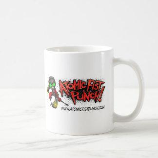 原子握りこぶしの穿孔器 コーヒーマグカップ