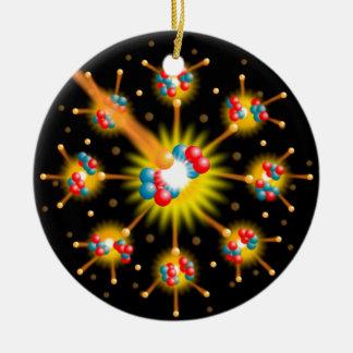 原子核分裂 セラミックオーナメント
