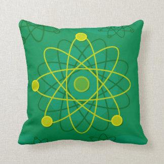 原子構造のグラフィック クッション