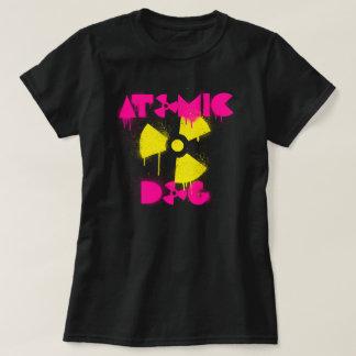 原子犬のTシャツ Tシャツ