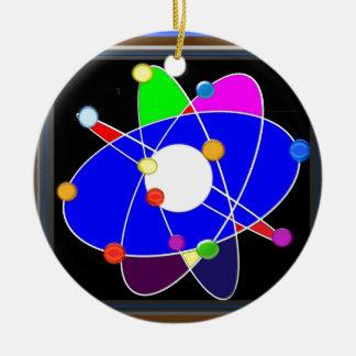 原子科学は勉強の研究の学校を探検します セラミックオーナメント