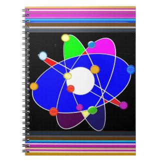 原子科学は勉強の研究NVN632の学校を探検します ノートブック