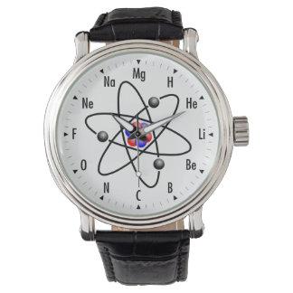 原子科学/化学 腕時計