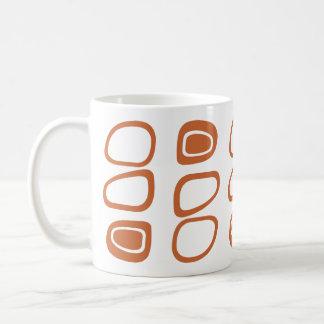 原子50年代のスタイルのコーヒー・マグ コーヒーマグカップ
