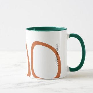 原子50年代のスタイルのコーヒー・マグ マグカップ