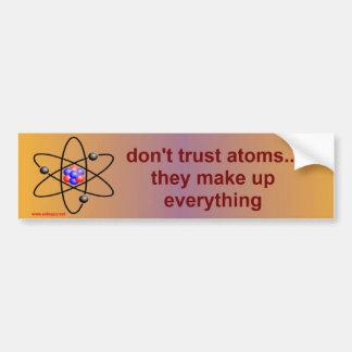 原子 バンパーステッカー