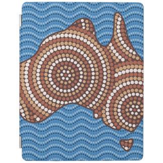 原生のオーストラリアの点の絵画 iPadスマートカバー