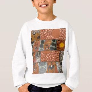 原生の主要なコラージュ.jpg スウェットシャツ