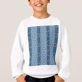原生の海パターン スウェットシャツ