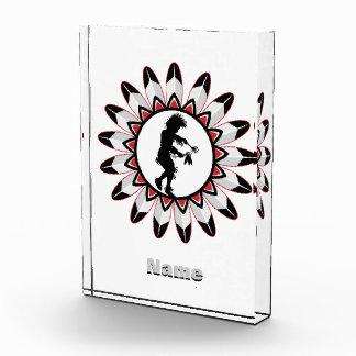 原産のアメリカインディアンのダンス 表彰盾