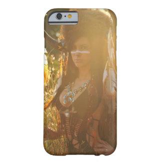 原産のアメリカインディアンの女の子のファッション BARELY THERE iPhone 6 ケース