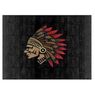 原産のアメリカインディアンの責任者 カッティングボード