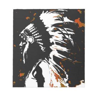 原産のアメリカインディアン ノートパッド
