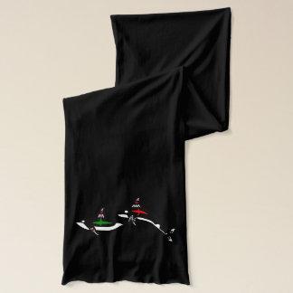 原産のクジラ スカーフ
