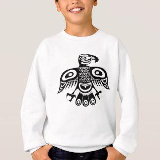 原産のトーテムの鳥 スウェットシャツ
