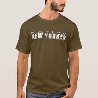 原産のニューヨーカーの人のTシャツ Tシャツ