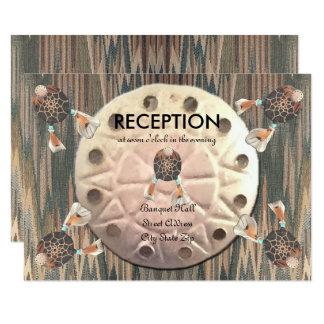 原産の砂ドルの結婚披露宴 カード