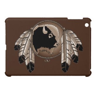 原産の芸術のiPad Miniケースの精神のバッファローMetis Cas iPad Mini Case