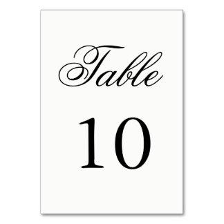 原稿のテーブル数 カード
