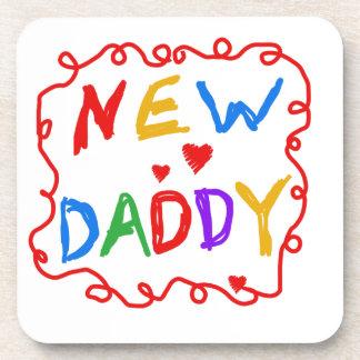 原色の新しいお父さんのギフト コースター