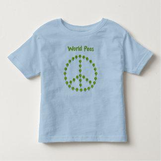 原野のエンドウ豆 トドラーTシャツ