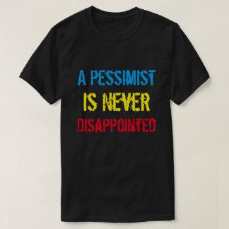 厭世家は決して失望していません Tシャツ