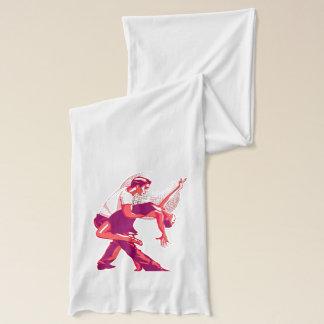 厳しくサルサの赤の陰 スカーフ