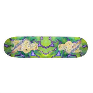 厳格なおばあさんのスケートボード カスタムスケートボード