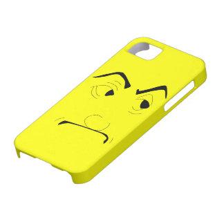 厳格な顔のiPhone 5カバー iPhone SE/5/5s ケース