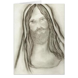 厳粛なイエス・キリスト カード