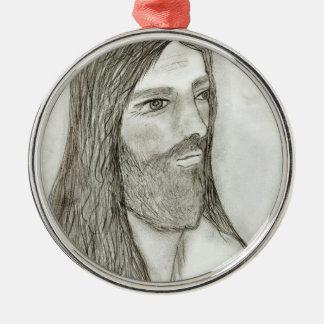 厳粛なイエス・キリストII メタルオーナメント