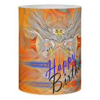 厳粛にワシの上昇の朝日の誕生日の蝋燭 LEDキャンドル