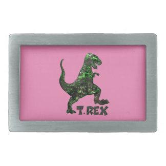 厳選されたなTのレックスの恐竜の多数プロダクト 長方形ベルトバックル